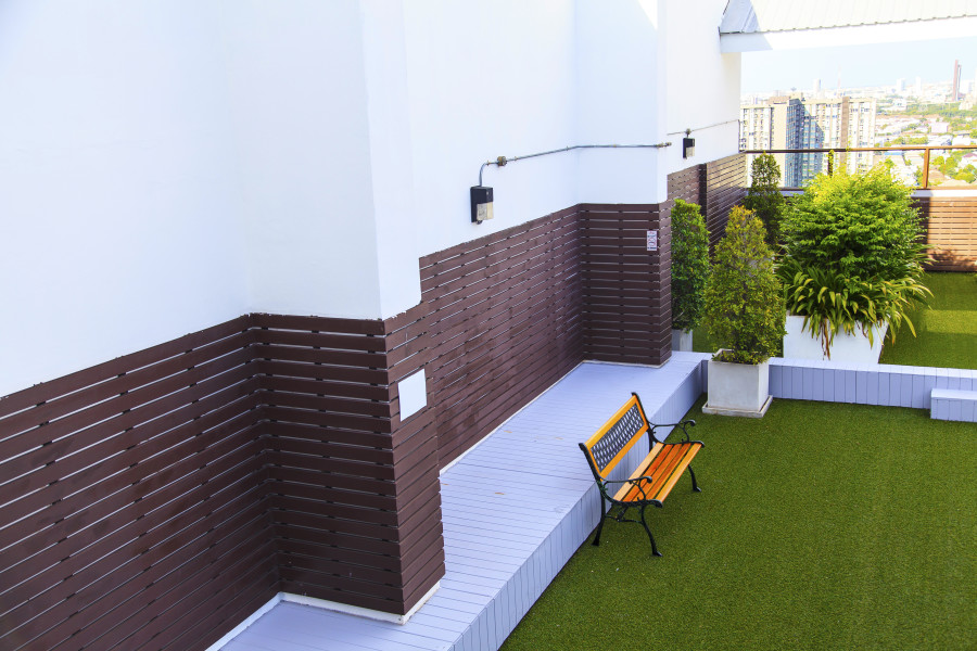 ROOF TOP GRASS
